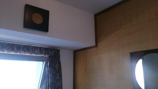 Hotel Chaco: Pared y sistema de audio
