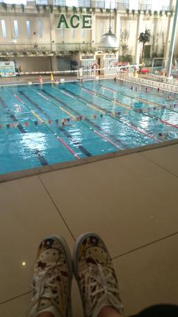 Ace Water Spa: The olympic pool area