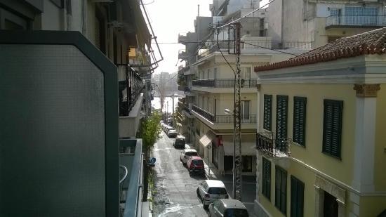 Lilia Hotel: Blick vom Balkon Richtung Marina