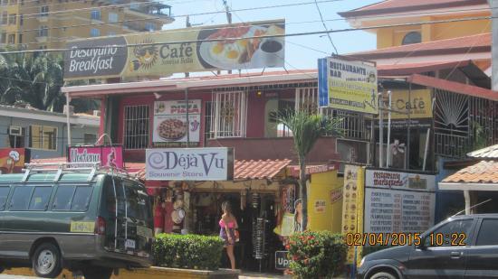 Cafe Sonrisa Bella: la facade