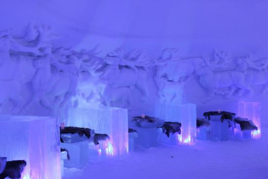 Kirkenes Snow Hotel Lobby Schneehotel In