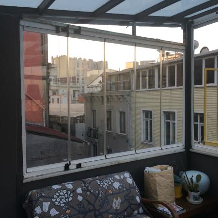 I'zaz Lofts: View from rooftop
