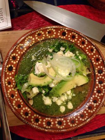 My Mexican Kitchen : Enchiladas Verdes