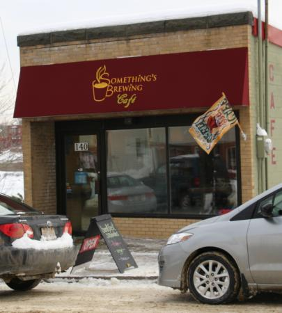 St. Stephen, Canadá: Cosy place on a cold winter's day