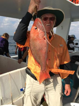 Took me two tries 10lb snapper picture of sweet jody for Sweet jody fishing