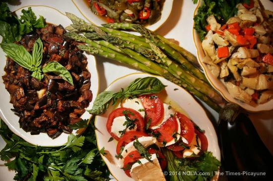 Andrea's Restaurant: Andrea's offers a wide variety of Antipasti dishes