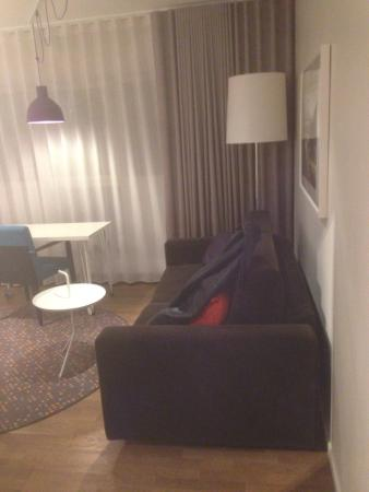 Hotel Finn: Soffa