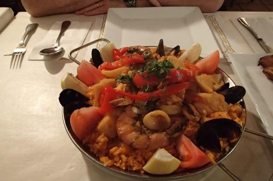 Siglo XX : Siglo's seafood paella for 2 persons