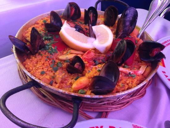 Restaurante El Rey de la Gamba Puerto Olimpico: Paella