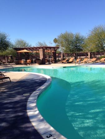 Courtyard Scottsdale Salt River : Pool area