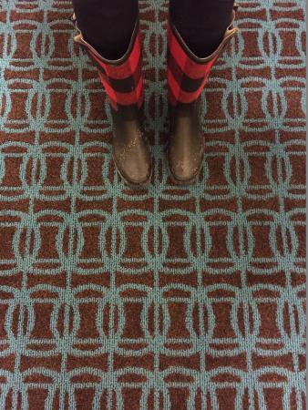 Fairfield Inn & Suites Traverse City : New carpet!