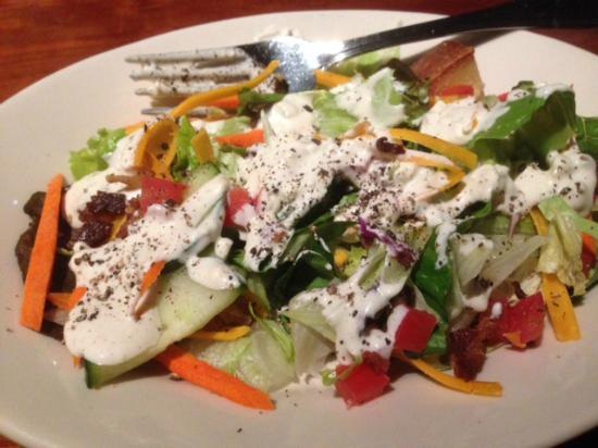 J Alexander's Restaurant: Alex's Salad w Blue Cheese Dressing