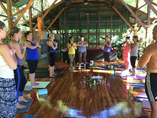 The Sanctuary at Two Rivers: Yoga Practice Circle at the Pagoda