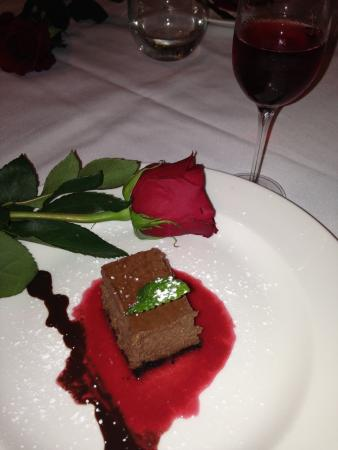 Ballard Inn: Romantic ending to a fine evening