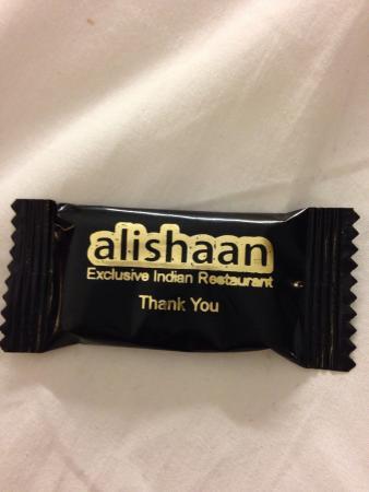 Alishaan: Best bit of the meal!