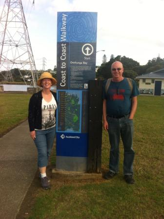 Coast-to-Coast Walkway : The start