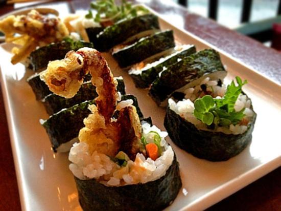 Kenichi Pacific Sushi & Pacific Rim: Spider sushi roll