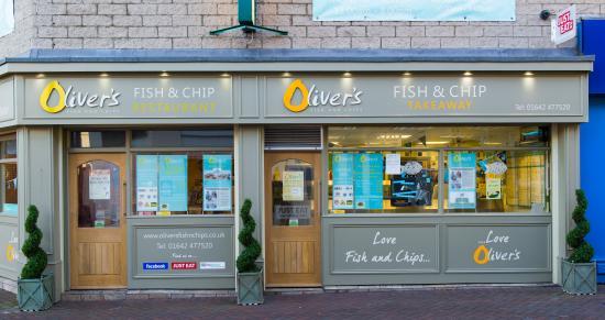 Oliver's Fish & Chips: Updated Shop Front - Jan 2015