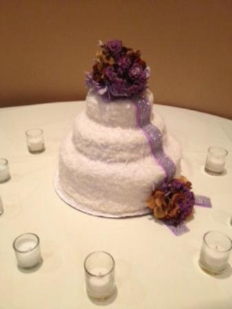 Queen Zuri Cafe Coconut Pineapple Wedding Cake