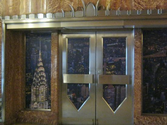 Chrysler building lobby ceiling mural picture of for Chrysler building lobby mural