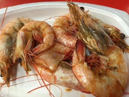 Boiling Point R & M : Boiled shrimp
