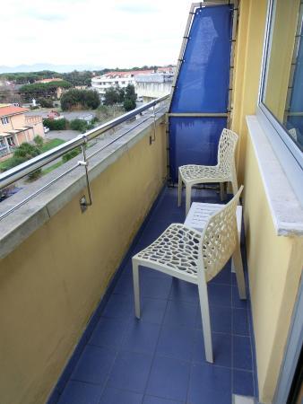 Grand Hotel Continental : balconcino