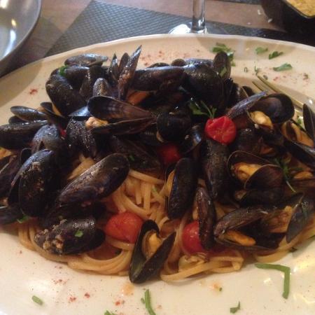 Pulcinella : Linguine aux moules