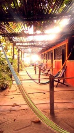 Posada Mexico: hamacas y tumbonas