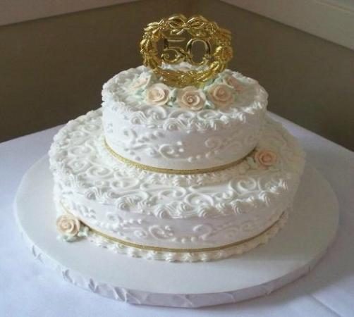 Cakes For All Occasions Classic Scroll Special Occasion Cake