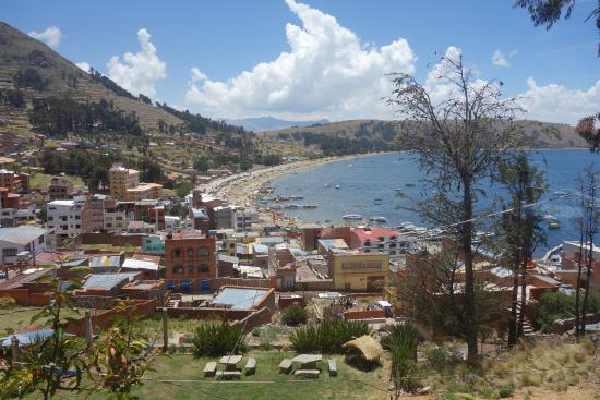 La Paz on Foot: Copacabana from the hotel