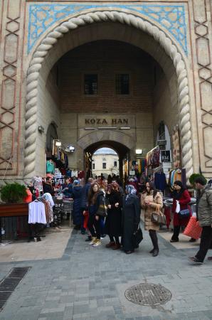Covered Bazaar (Bedesten): Bazar coperto (Koza Han) - ingresso