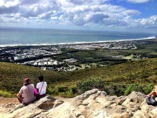 Coolum Beach, ออสเตรเลีย: View from the top