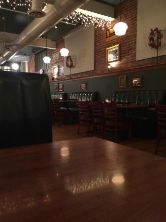 Union Station: Dining room not too long before closing