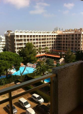 Mediterranean Suites: View from balcony