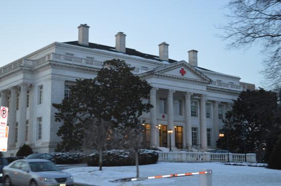 American Red Cross Museum: Vista Exterior.
