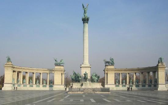 Heldenplatz: Millennium Monument, Budapeste