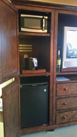 Tamarack Resort : Microwave and fridge