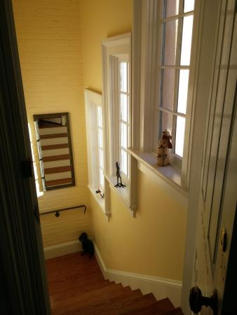The Inn at 400 West High : Private stairs to the McIntire room
