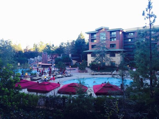 Disney's Grand Californian Hotel & Spa: BalconyView
