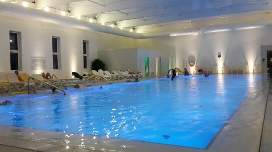 Hotel Universal Terme: Piscina interna e biosauna