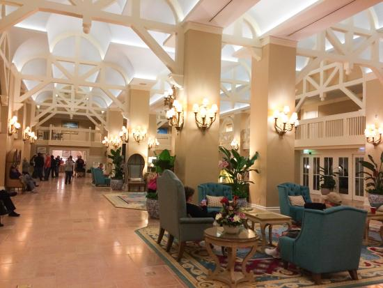 Interior Picture Of Disney S Beach Club Resort Orlando
