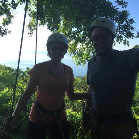 Chiclets Tree Zipline : Fun at Chiclets