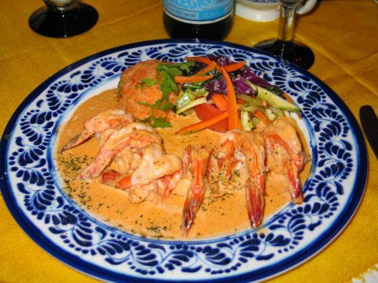 María Corona Restaurant: well presented dishes