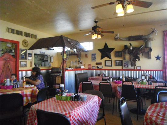 Horseshoe Cafe: Western atmosphere
