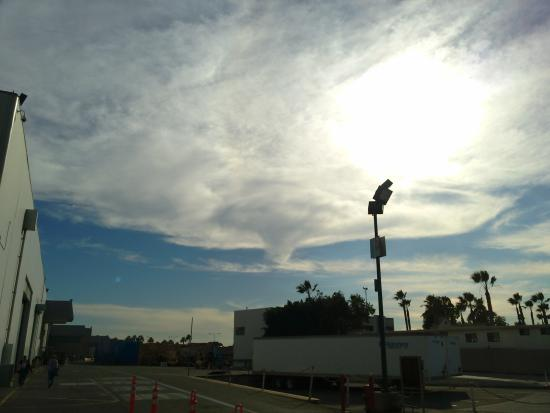 Extended Stay America - Orange County - Anaheim Convention Center: Cool clouds over disneyland
