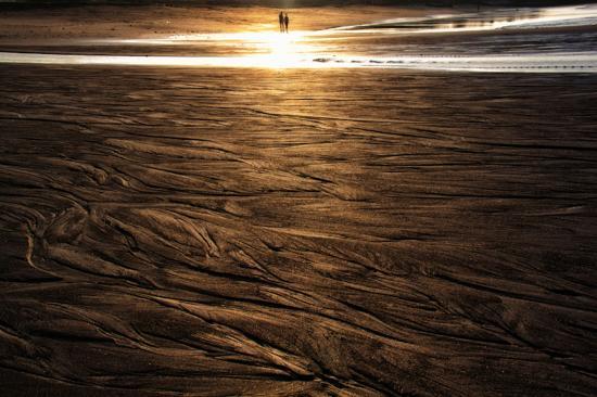 Pererenan Beach at Sunset