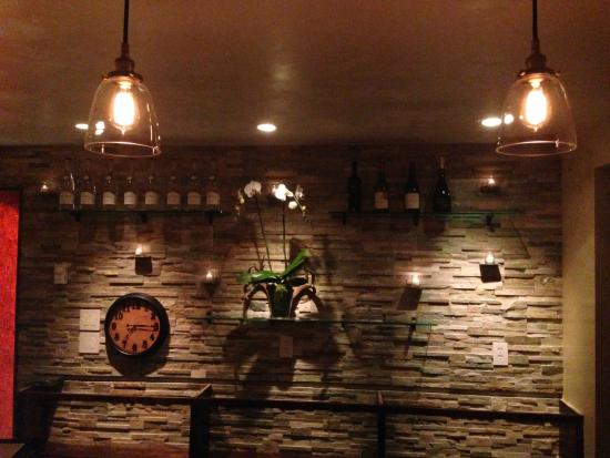 Alpine, WY: Main Bar Back Wall