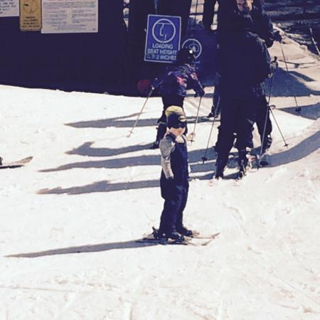 Homestead Ski Area: Our Little Ski Guy