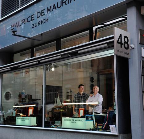Zúrich, Suiza: Maurice de Mauriac - Zurich Watches - Atelier @ Tödistrasse in Zurich.