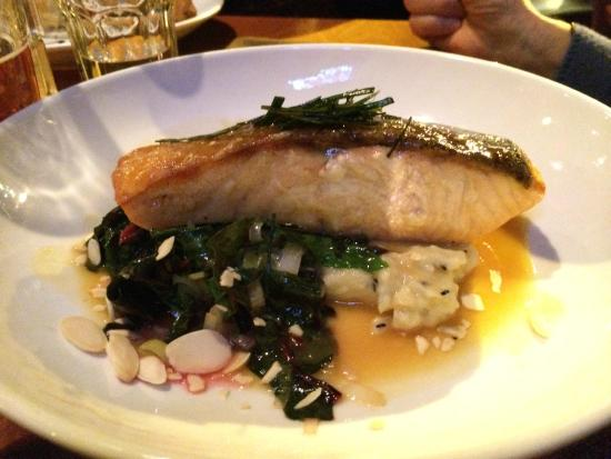 Sweet Grass Grill: Glazed Scottish Salmon